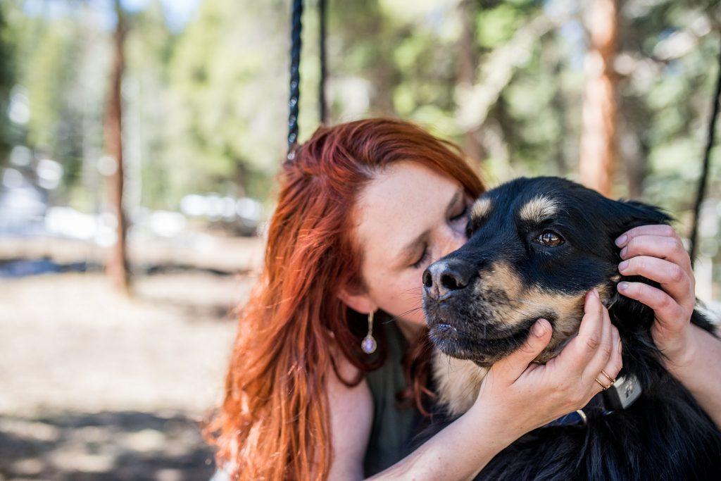 Colorado adventure pet photography
