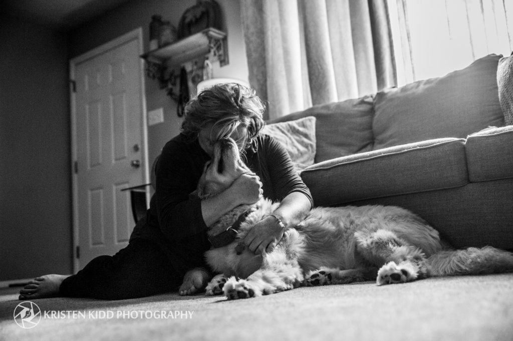Berks County lifestyle pet photo session with Kristen Kidd Photography for Brandywine Valley SPCA